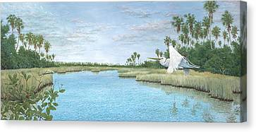Nature Coast Canvas Print by Kevin Brant