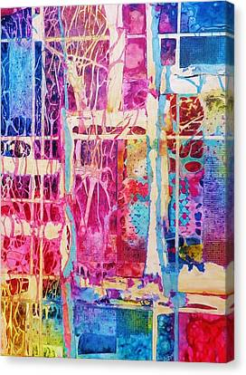 Nature's Abstract Canvas Print by David Raderstorf