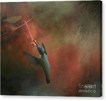 Nature's Angel Canvas Print by Cris Hayes