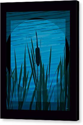 Natures Center Canvas Print by Debra     Vatalaro
