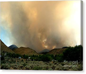 Natures Fury  Canvas Print by The Kepharts