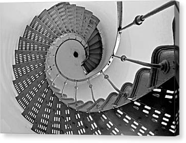 Nautilus Stairs Canvas Print