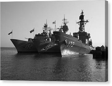 Naval Joint Ops V1 Canvas Print by Douglas Barnard