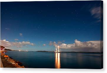 Navigate By The Stars Canvas Print by Paul Svensen