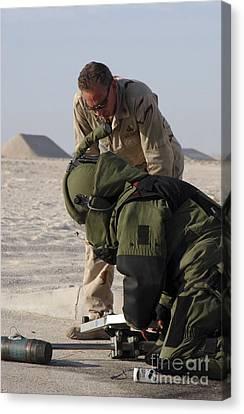 Navy Explosive Ordnance Disposal Mobile Canvas Print by Stocktrek Images