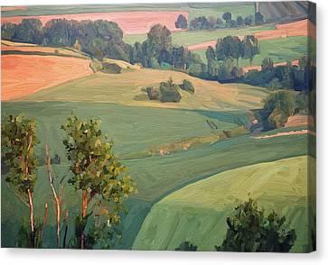Near Eckelrade Canvas Print by Nop Briex