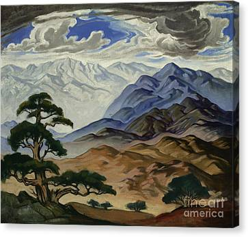 Nebo Composition Canvas Print