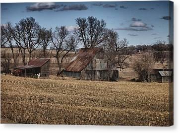 Nebraska Farm Canvas Print