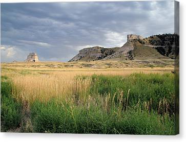 Canvas Print featuring the photograph Nebraska by Geraldine Alexander