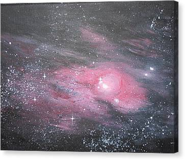 Nebula 1 Canvas Print by Siobhan Lawson