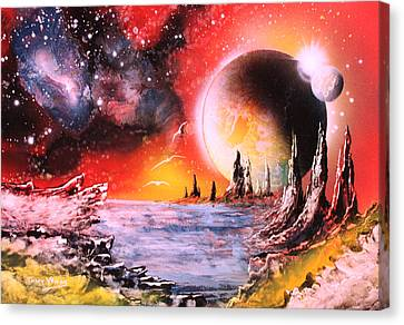 Nebula Storm Canvas Print by Tony Vegas