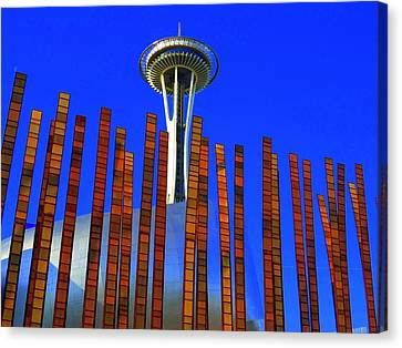 Needle In A Haystack Canvas Print by Randall Weidner