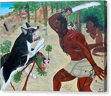 Neg Mawon Haiti 1791 Canvas Print
