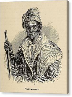 Negro Abraham Was An African Seminole Canvas Print by Everett