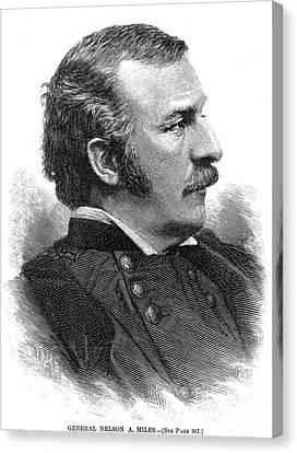 Nelson Appleton Miles Canvas Print by Granger