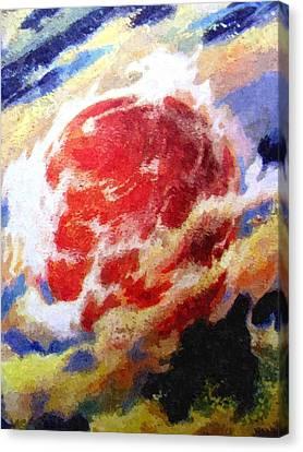 Nemesis Star  Canvas Print by Goldy Parazi