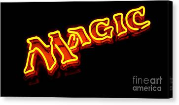 Neon Magic Canvas Print by Steven Milner