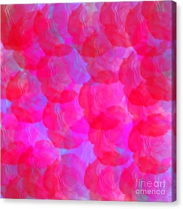 Neon Roses Canvas Print by Susan Stevenson