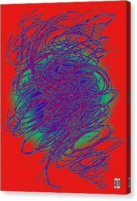 Neon Poster. Canvas Print