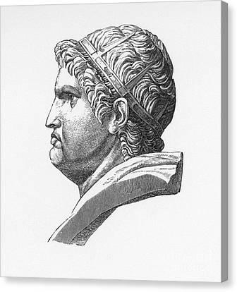 Nero (37-68 A.d.) Canvas Print by Granger