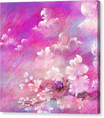Nest Canvas Print by Rachel Christine Nowicki