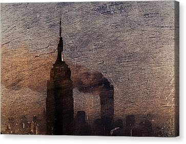 Never Forget Canvas Print by Andrea Barbieri
