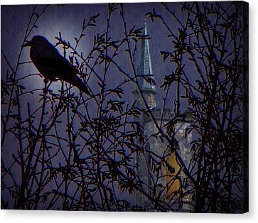 Canvas Print featuring the photograph Nevermore by David Dehner