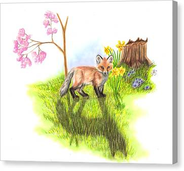 New Beginnings Canvas Print by Scarlett Royal
