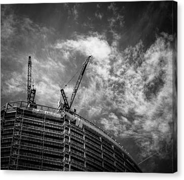 New Buildings Canvas Print