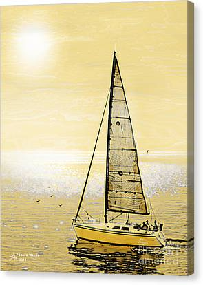 New Dawn Canvas Print by Artist and Photographer Laura Wrede