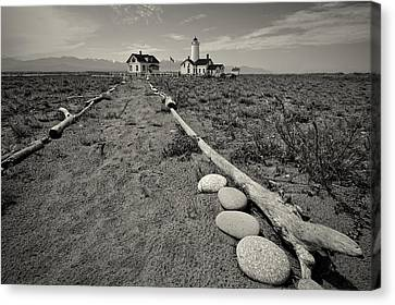 New Dungeness Lighthouse Canvas Print by Dan Mihai