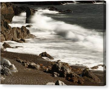 Canvas Print featuring the photograph New England Seashore 2 by Raymond Earley