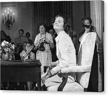 New First Lady, Betty Ford Canvas Print by Everett