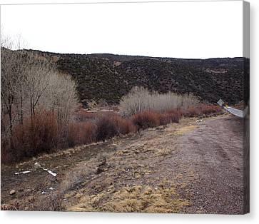 New Mexico Plein Air Study Canvas Print