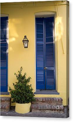 New Orleans Doors Canvas Print