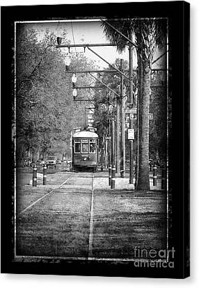 New Orleans Streetcar Canvas Print by Jeanne  Woods