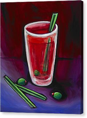 Bloody Mary Canvas Print - New Year by David Junod