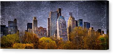 New York Buildings Canvas Print by Svetlana Sewell