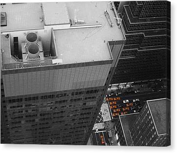 New York Cabs Canvas Print