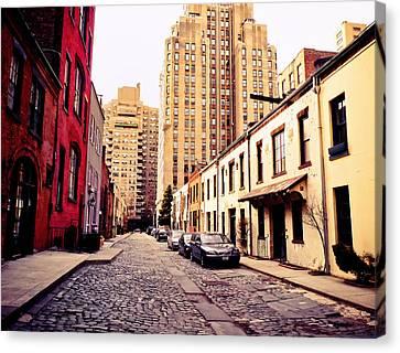 Washington Mews Canvas Print - New York City - Greenwich Village by Vivienne Gucwa