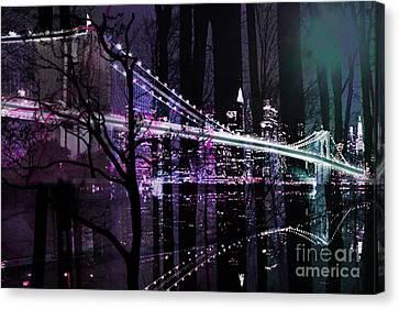 New York City II Canvas Print by Christine Mayfield