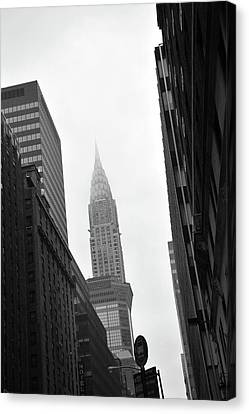 New York City Canvas Print by Thank you for choosing my work.