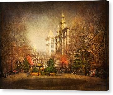 New York In April Canvas Print