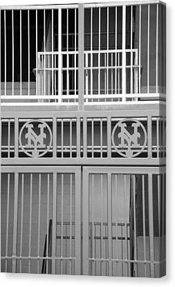 New York Mets Jail Canvas Print by Rob Hans