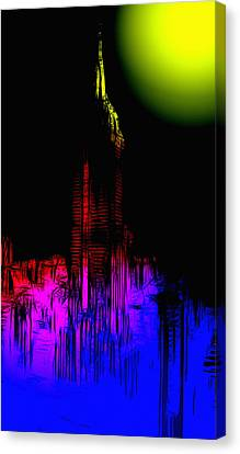 New York Nights Canvas Print by Steve K
