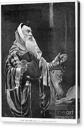 New York Rabbi, 1890 Canvas Print