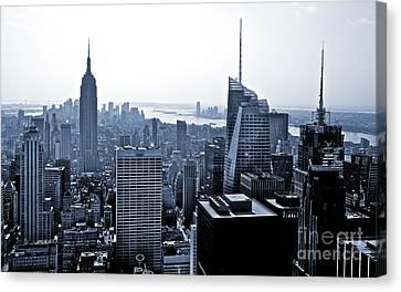 New York Skyline Canvas Print by Thomas Splietker