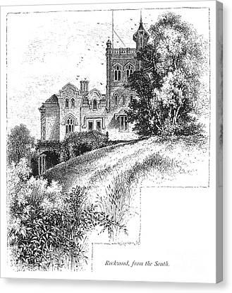 New York State: Villa Canvas Print by Granger