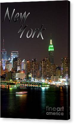 New York Canvas Print by Syed Aqueel
