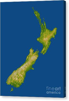 New Zealand Canvas Print by Stocktrek Images